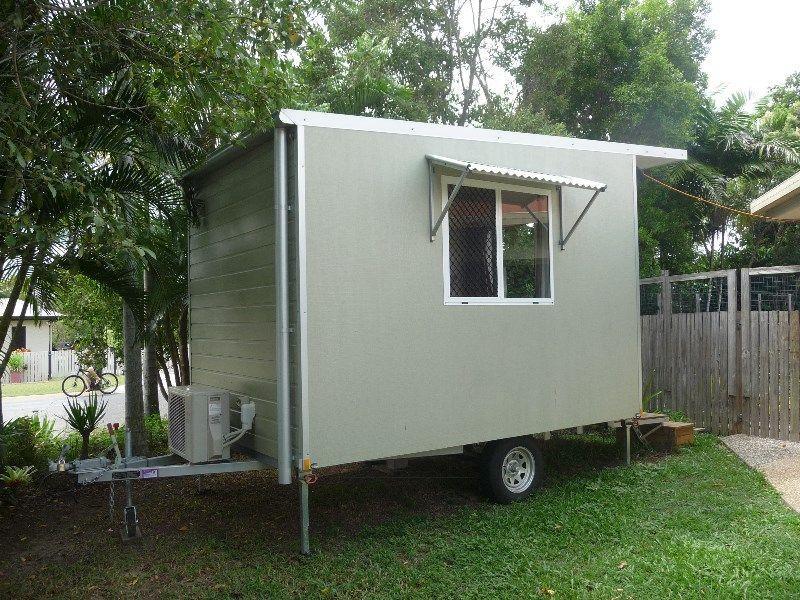 Small Mobile Cabin - Koru Building Contractors - Cairns Townsville ...
