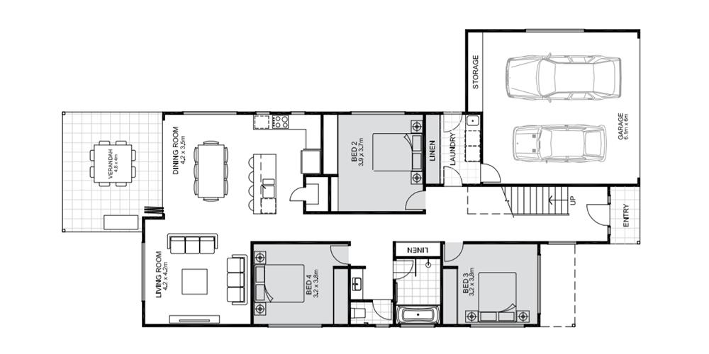 Barron lower floorplan Koru Building Cairns