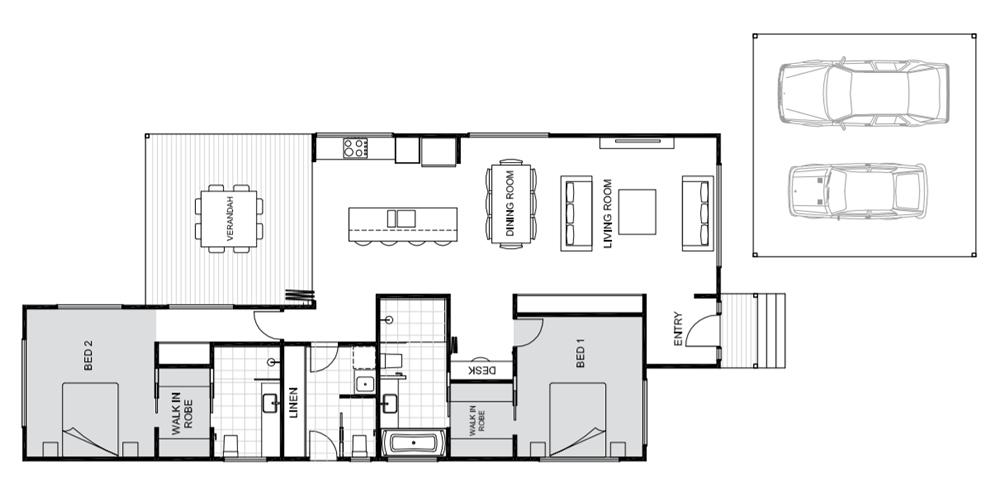 Fitzroy floorplan Koru Building Cairns